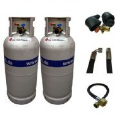 Alugas Gas Cylinders - Twin Bottle Kits